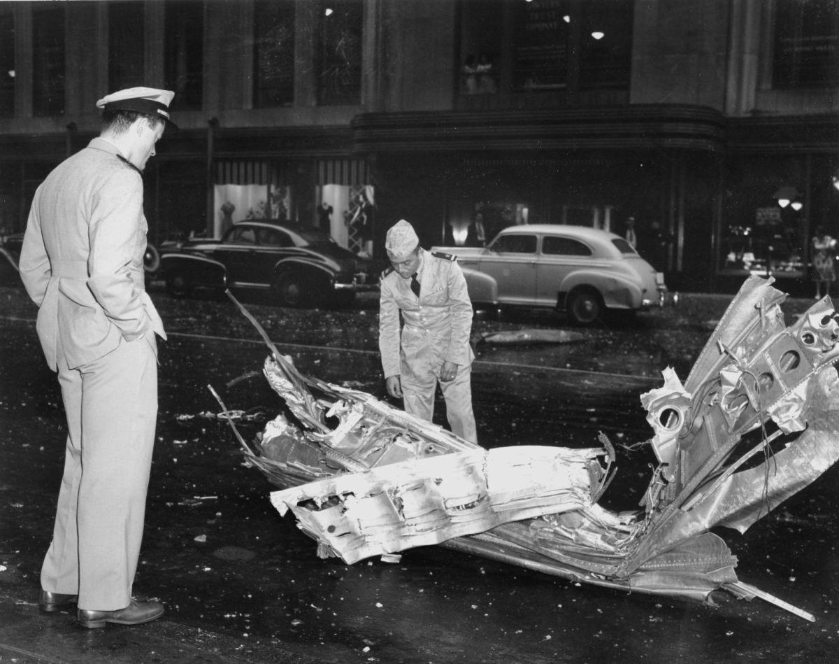 1945 Plane Crash Empire State Building Tales Morgue