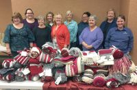 Knitters make scarves for Special Olympics | Community ...