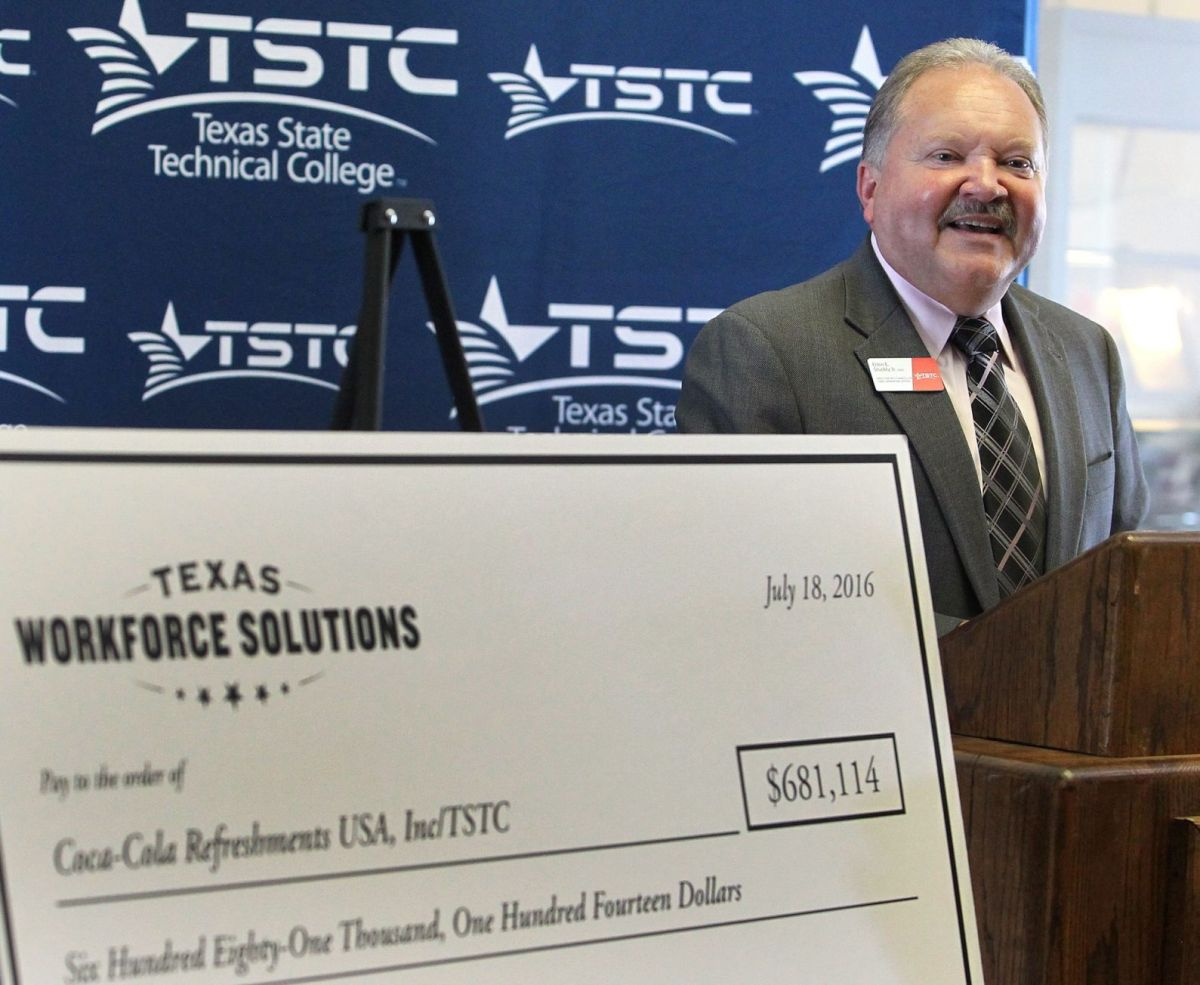 TSTC partners with Waco CocaCola plant for job training