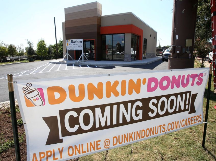 Mike Copeland Dunkin Donuts to open Tuesday Gaineses
