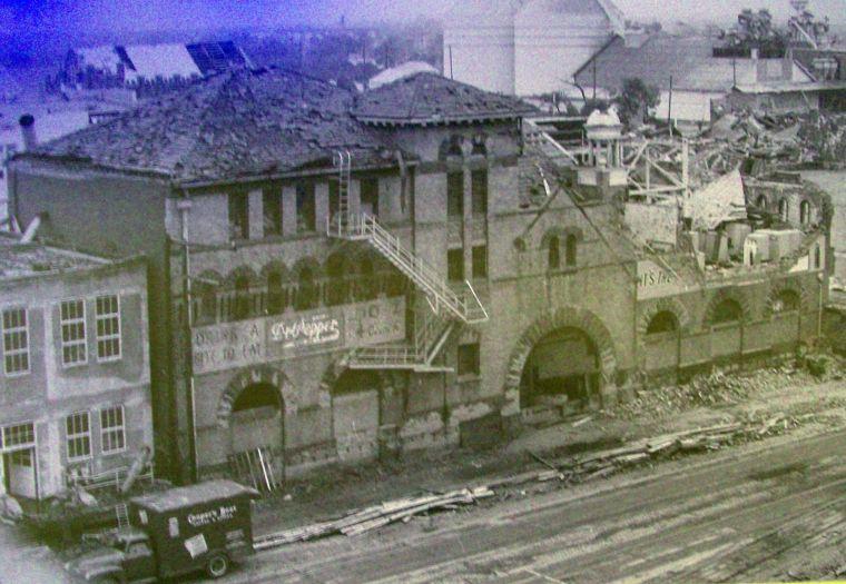 Building Waco Texas Old