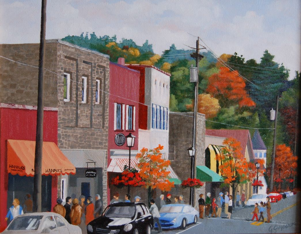Painter George Snyder Reveals New Work At Blowing Rock Frameworks Entertainment
