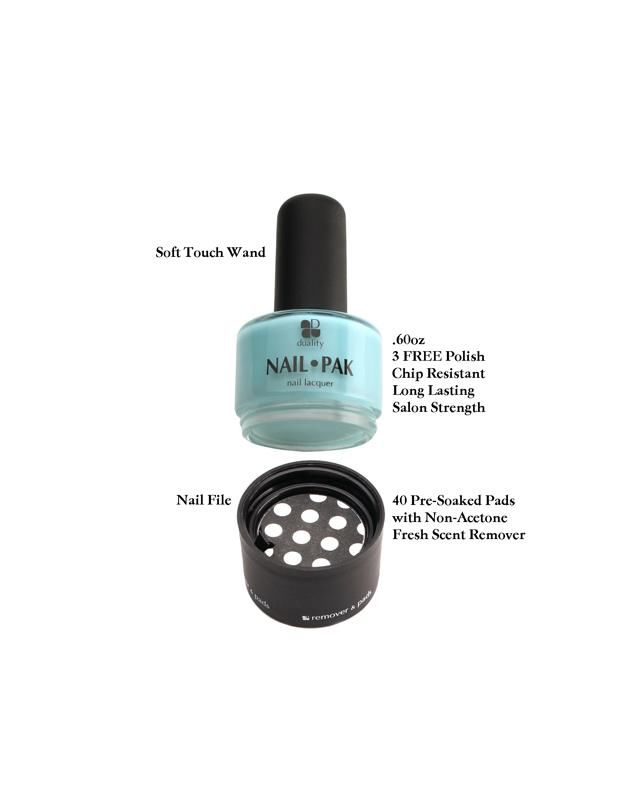 Duality Nail Pak | Duality Nail Polishes | All In One