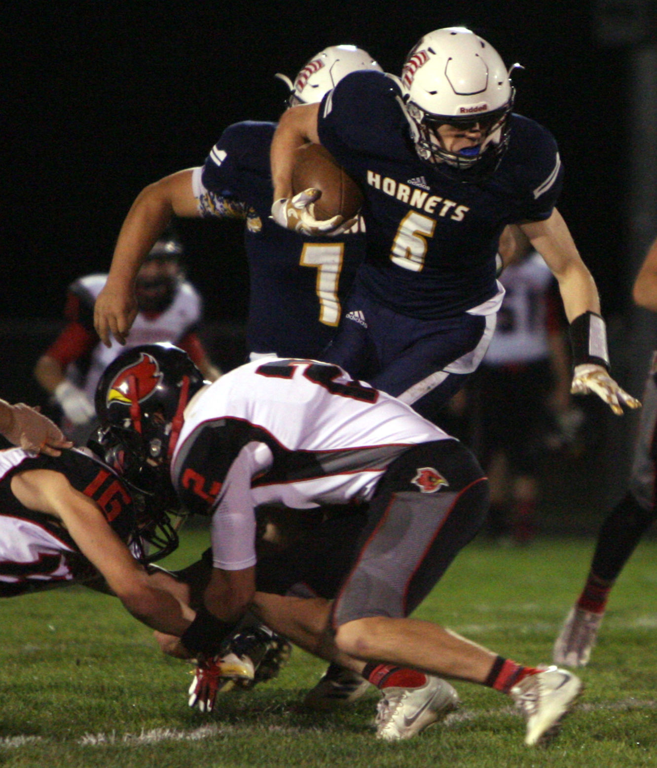 Football Saylor S Fumble Recovery Sparks Markesan In Rout