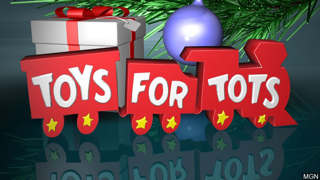 Montana Treasure Howard Mears With Toys For Tots