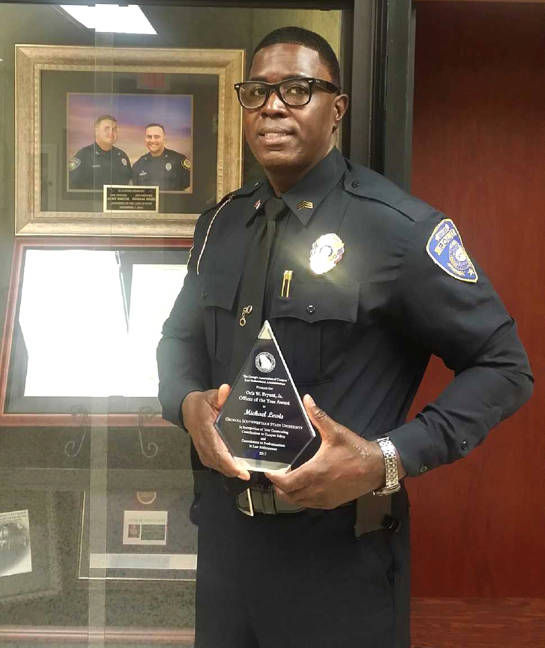 GSW officer named campus Public Safety Officer of Year  Local News  albanyheraldcom