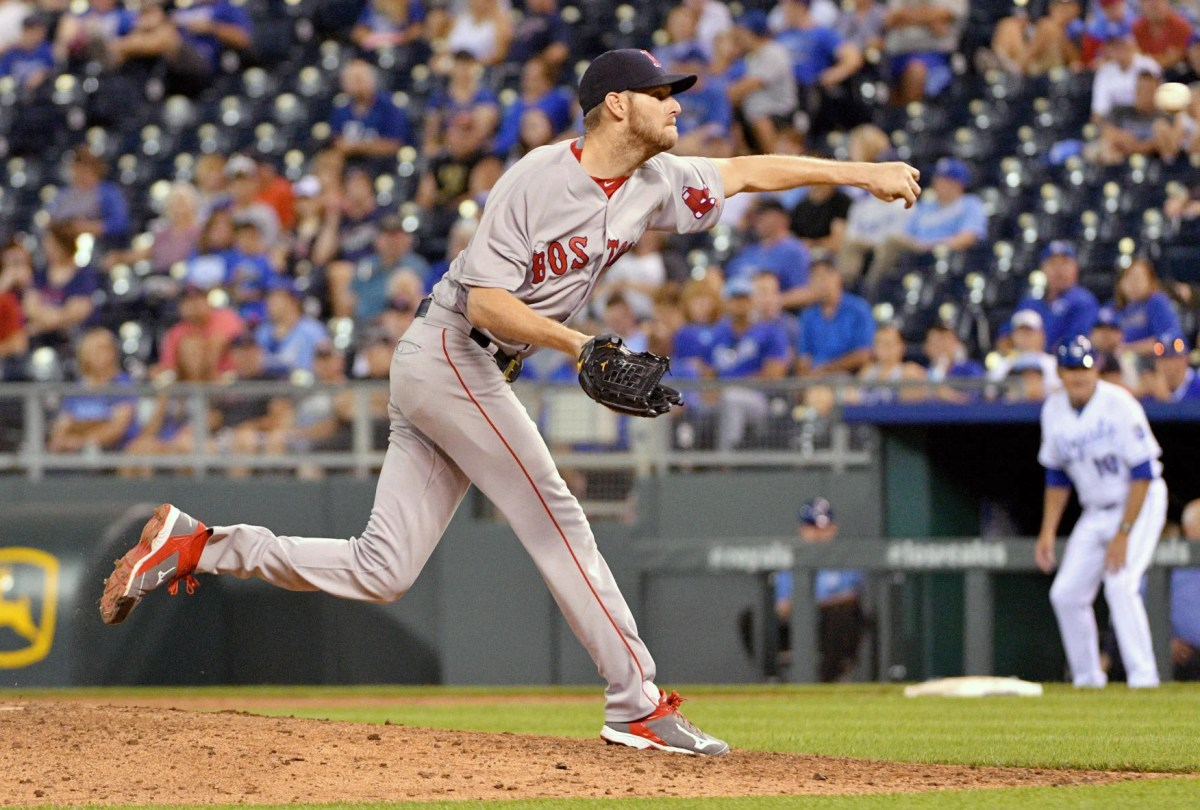 MLB Roundup Red Sox Move Into First Place Sportsxchange