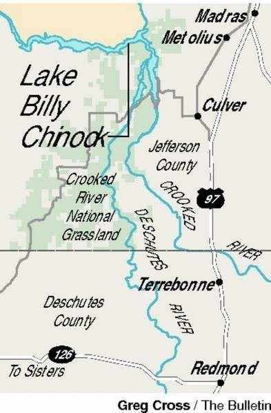 Lake Billy Chinook Map : billy, chinook, Billy, Chinook, Local&State, Bendbulletin.com