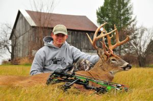 Gene Chague |  Berkshire Woods and Waters: Lee's Ruef harvests 15 pointers while archery in Berkshire County |  Local Sports