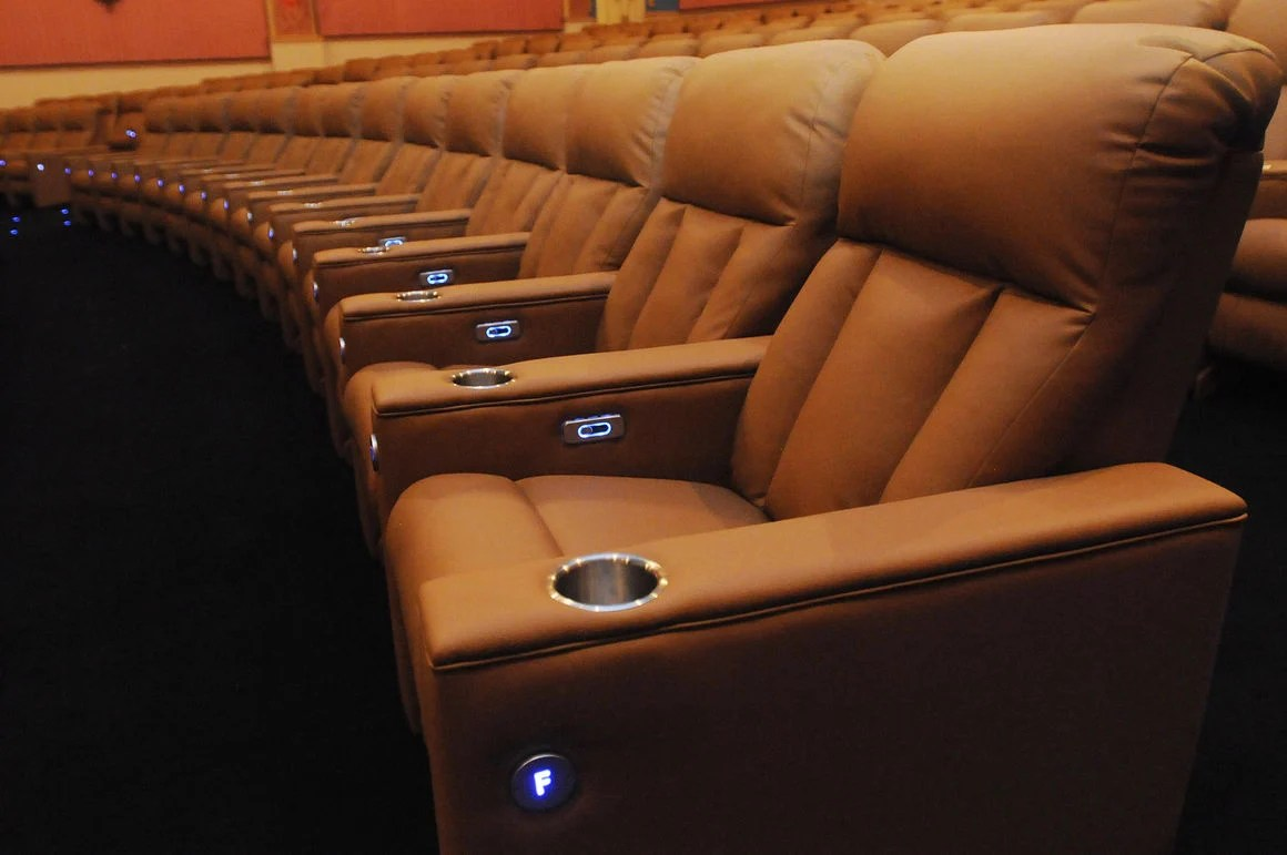 Reclining Chair Movie Theater Paramount Gets New Reclining Seats Local News Daily Journal