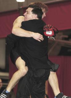 UNO wrestling emphasizes character