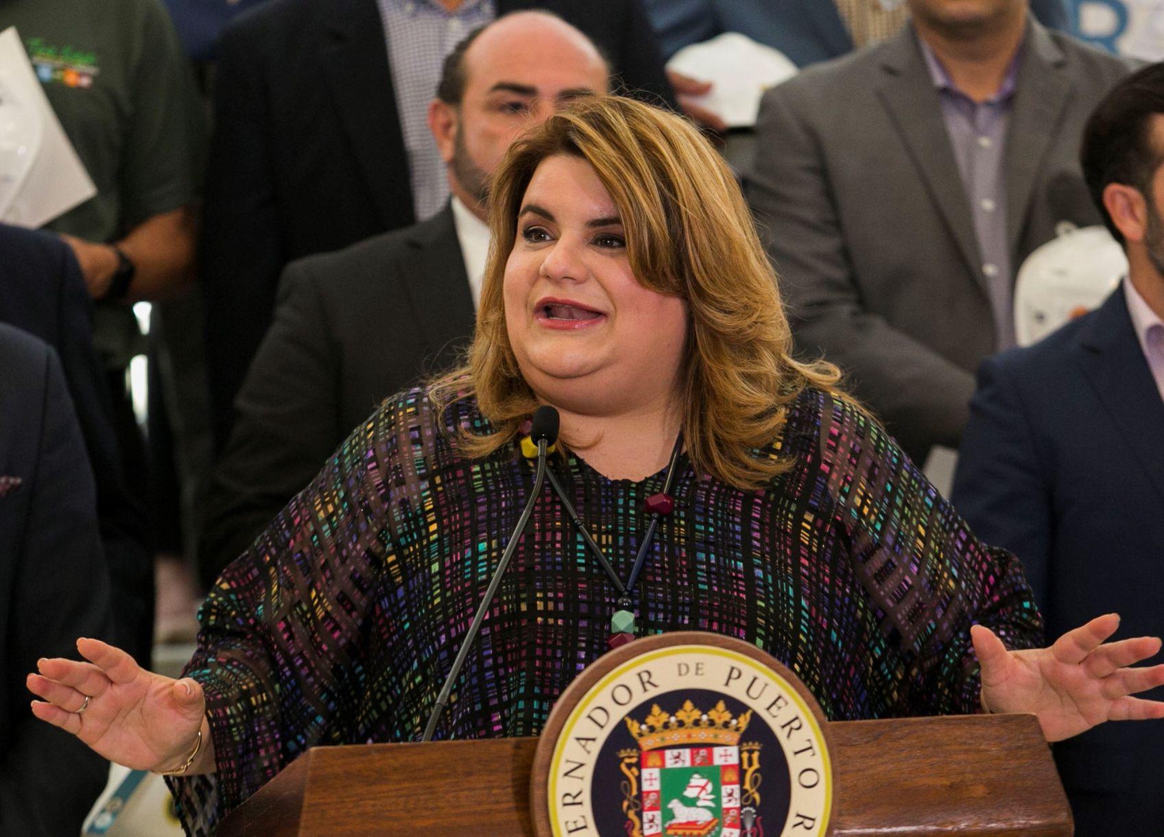 Jenniffer González reacciona a las manifestaciones