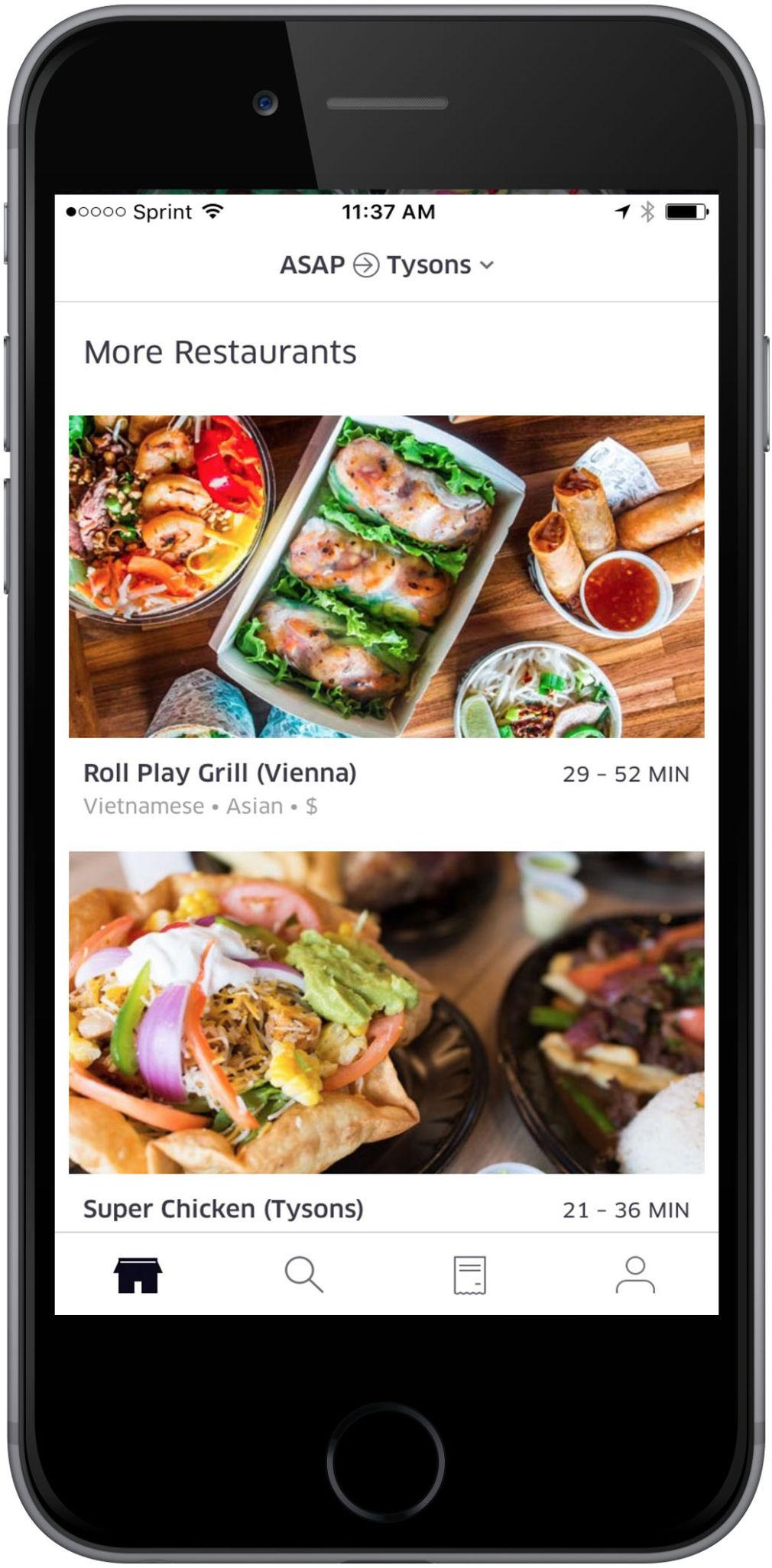 UberEATS app now reaching Tysons Corner and Vienna   Articles   fairfaxtimes.com