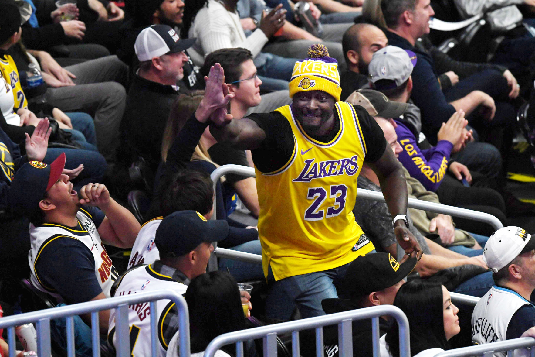 Lebron James Lakers Are On Other Level Than Nuggets