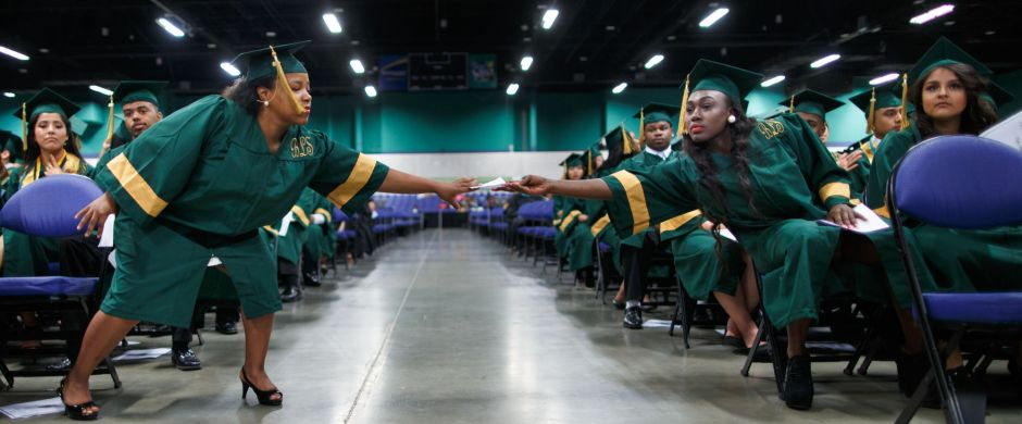 Smith High School Graduation  Greensboro News  Record