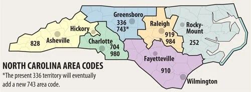 10-digit local calling. additional area code. coming to Triad | Local News | greensboro.com