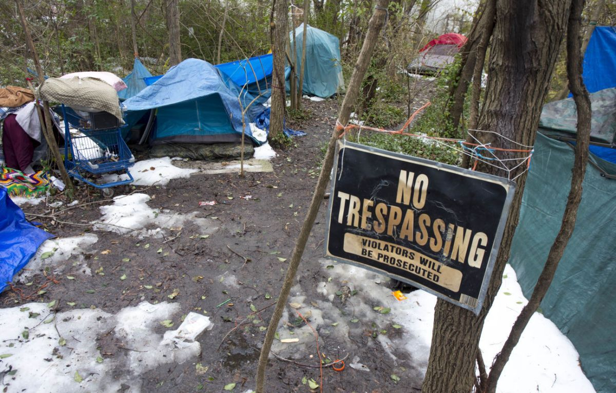 City to disband homeless camp Where are we supposed to