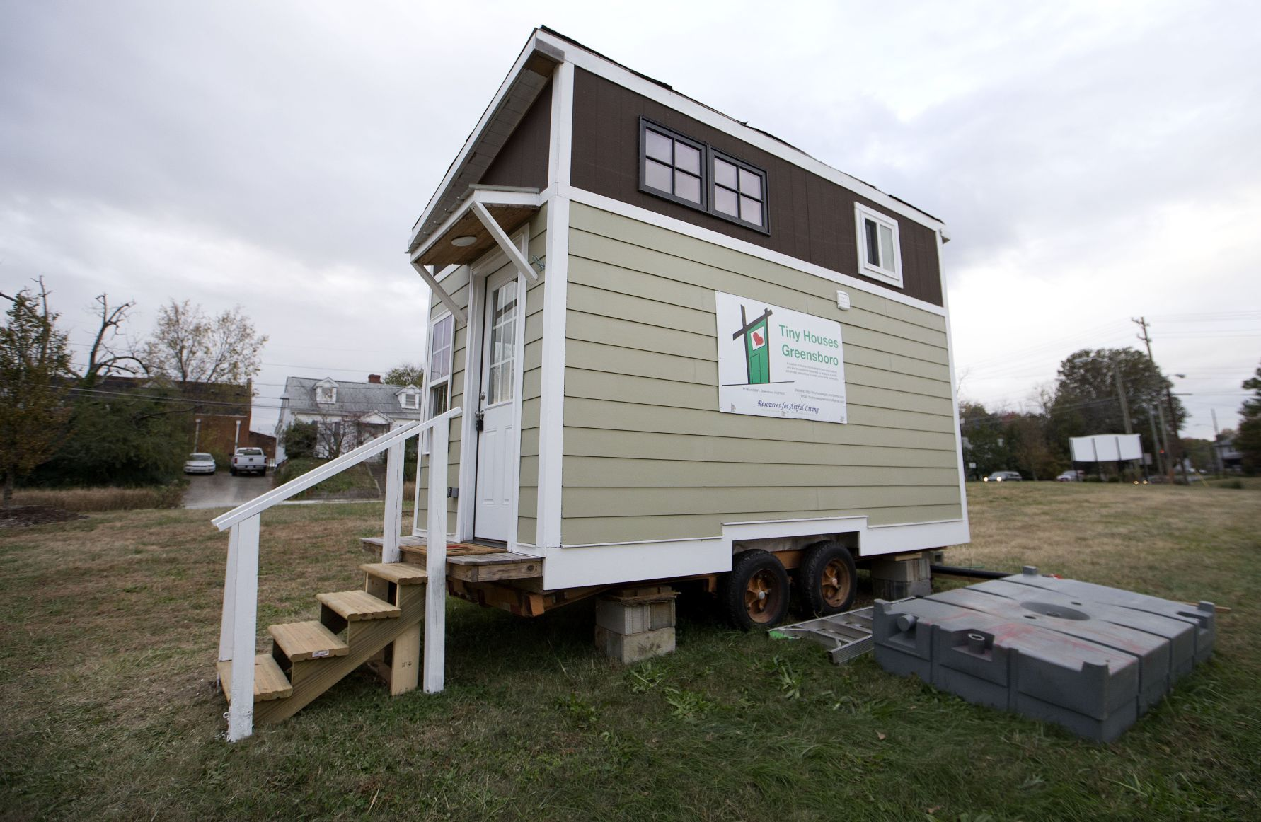 Tiny Houses Group Receives 44 000 In Property While Still