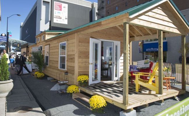 The Invasion Of The Tiny House At High Point Market