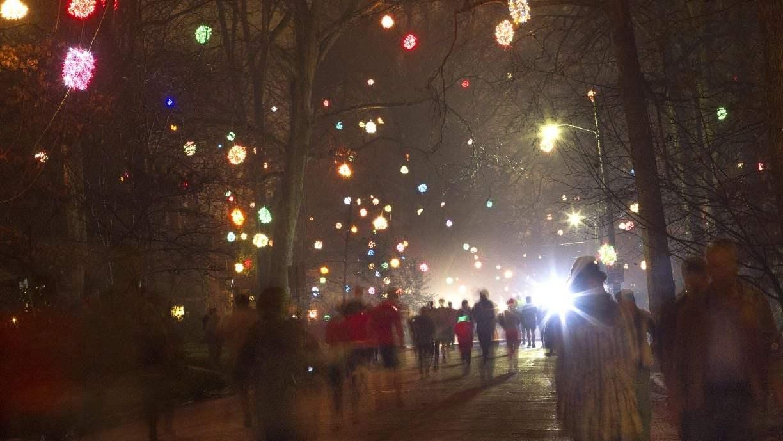 holiday lights near greensboro