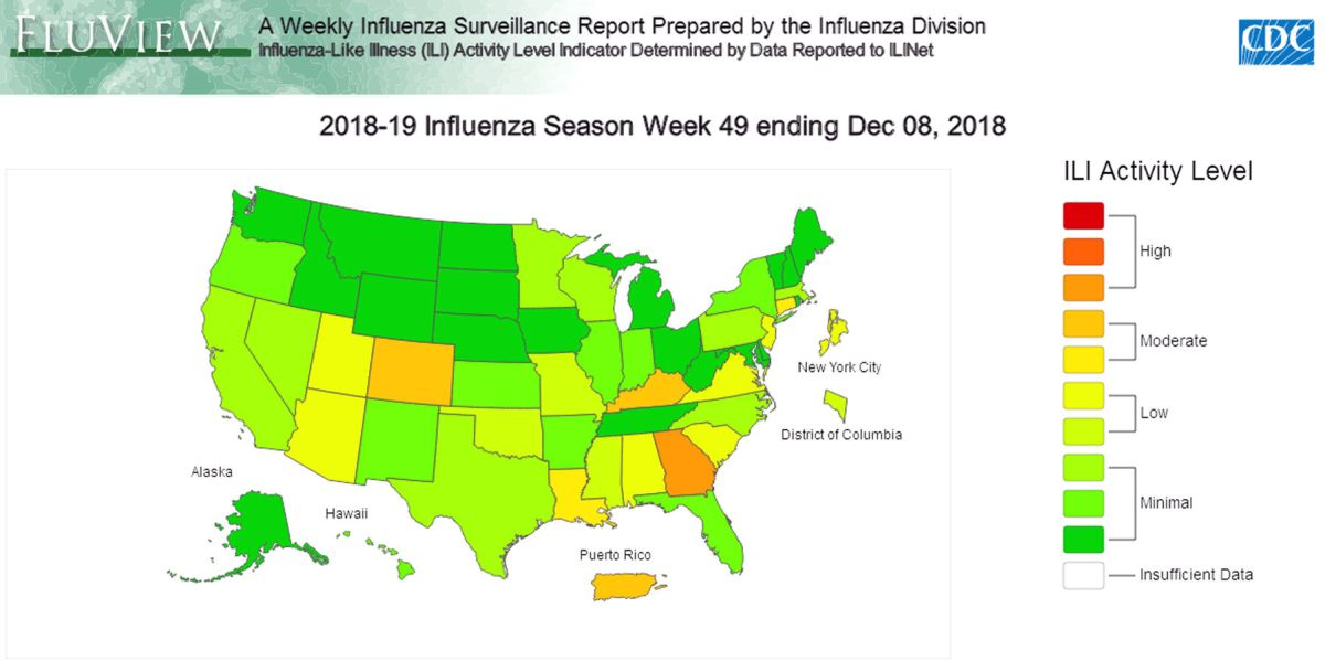 As flu season gets rolling, Georgia hit harder than any state ...