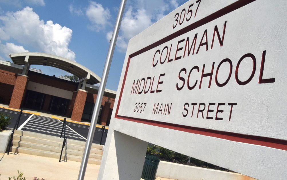 Coleman Middle School principal apologizes for slavery