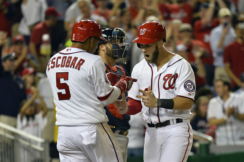 Bryce Harper Blasts Two More Homers Downs Braves Sports