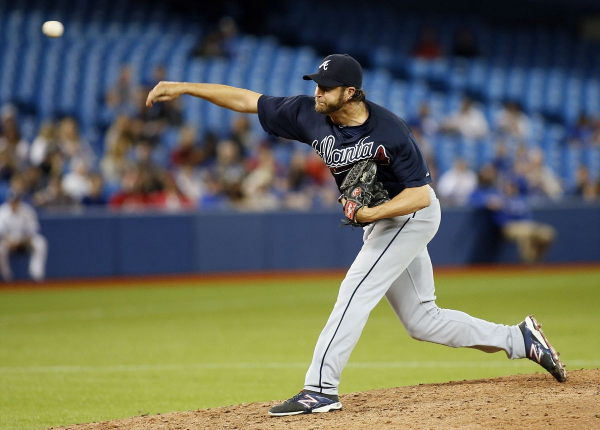 Braves Hang On With Grilli's Save To Beat Blue Jays Sports