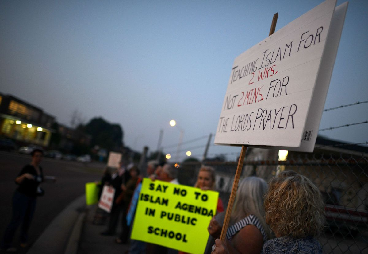 Group Protests Islam Inclusion In Schools' Common Core