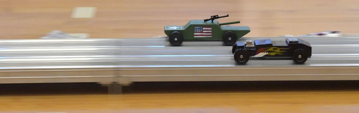 Pinewood Derby Car Carrier