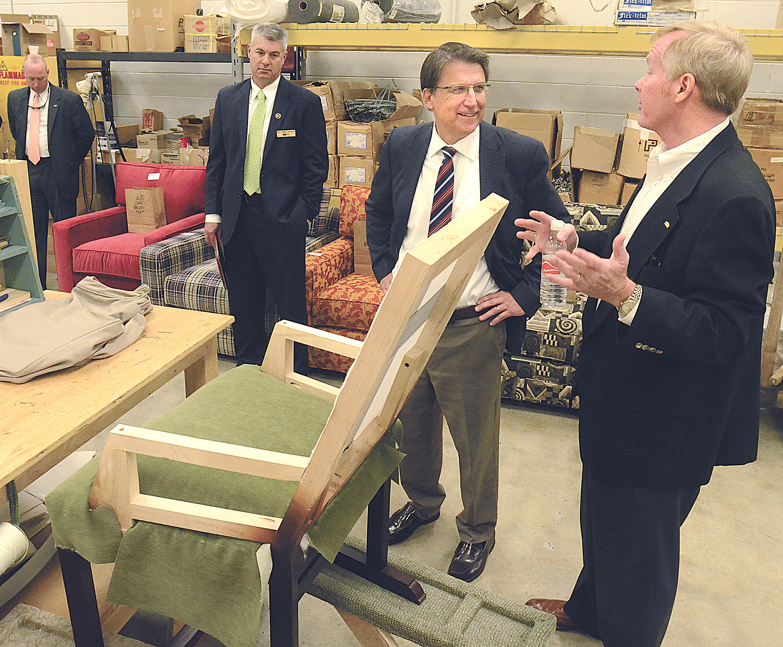 Cvcc Unveils New Furniture Academy News Hickoryrecord