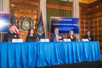 Cuomo declares state of emergency as NY coronavirus total climbs ...