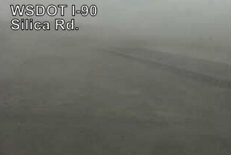Interstate 90 dust storm