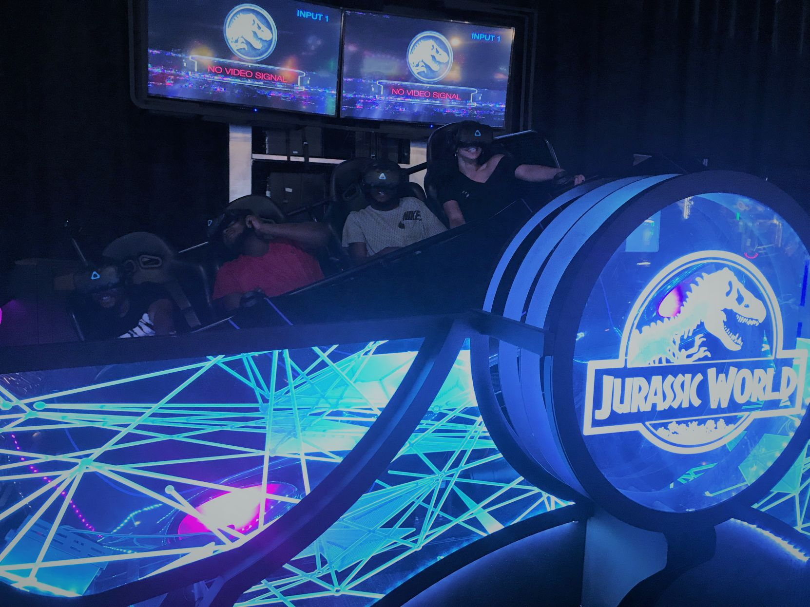 Jump Into Jurassic World With New Dave And Buster S Game