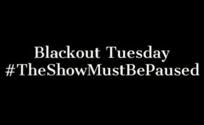 Music Labels Call For Blackout Tuesday Following George