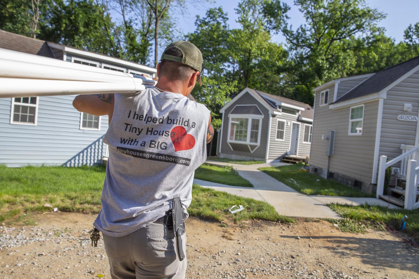 Greensboro Debuts Tiny Home Community To Address