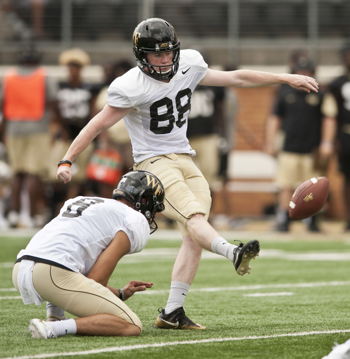 Wake forest scrimmage also   depth chart comes thursday afternoon with one rh journalnow