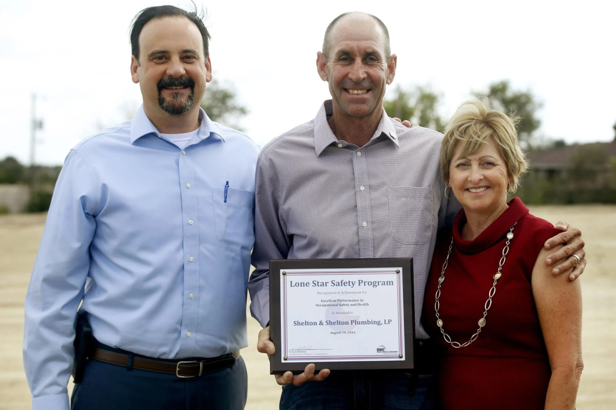 Local plumbing business honored for safety  Business