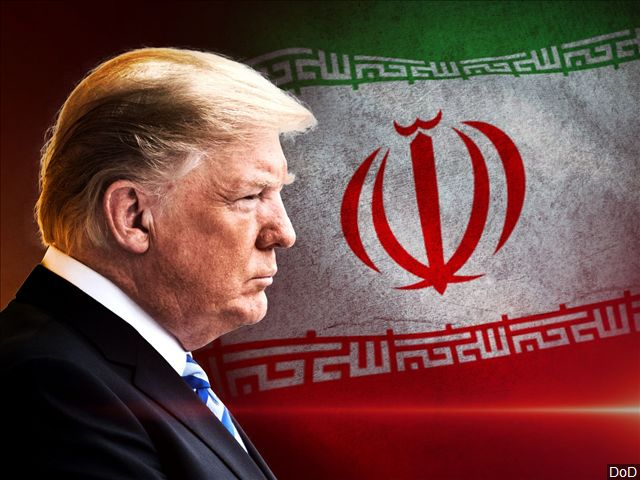 Dont Fire The Fire....Trump Warns Iran