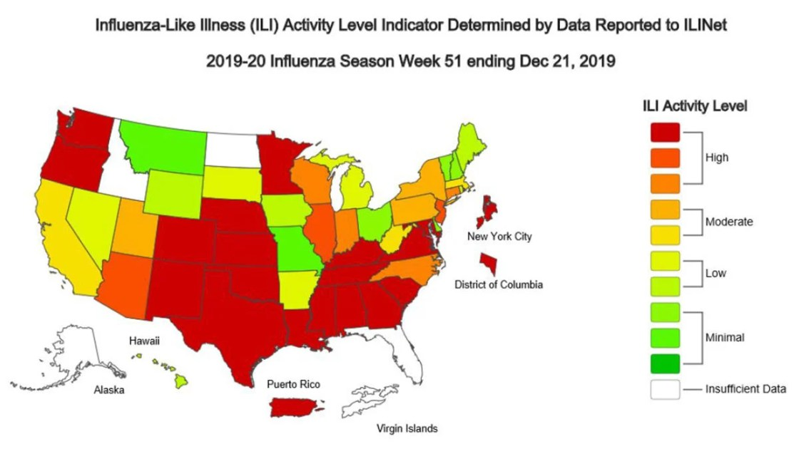 Flu passes 17K cases in Pennsylvania, with 9 deaths; strep ...