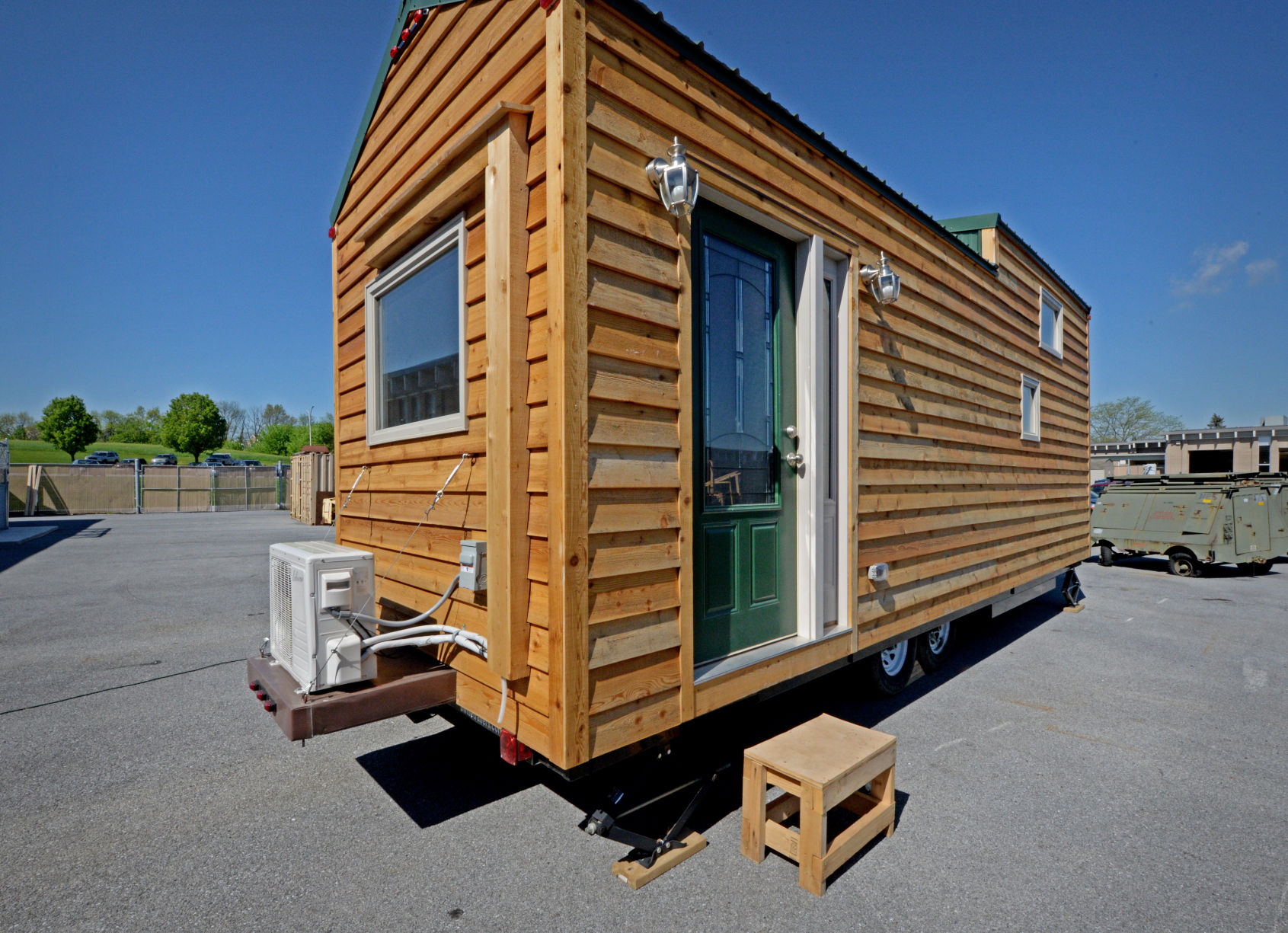 More Than 200 High School Students Build Tiny House To Be