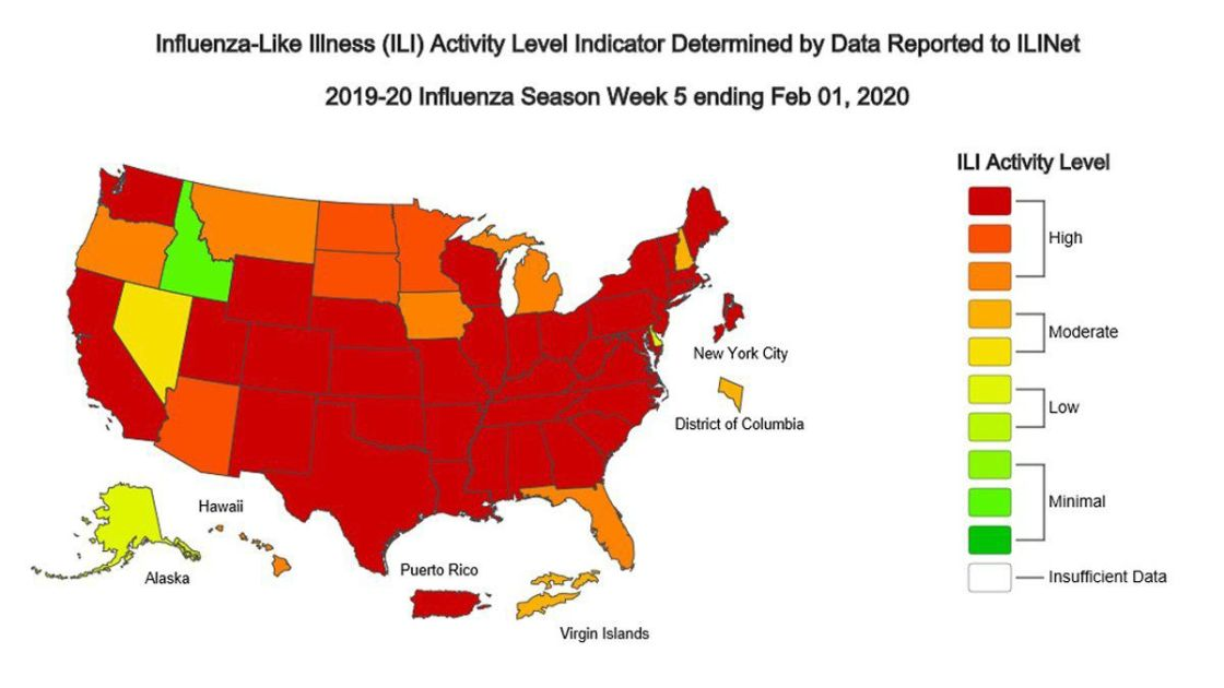 Flu resurges in Pa., with almost 24,000 cases and 14 deaths in ...