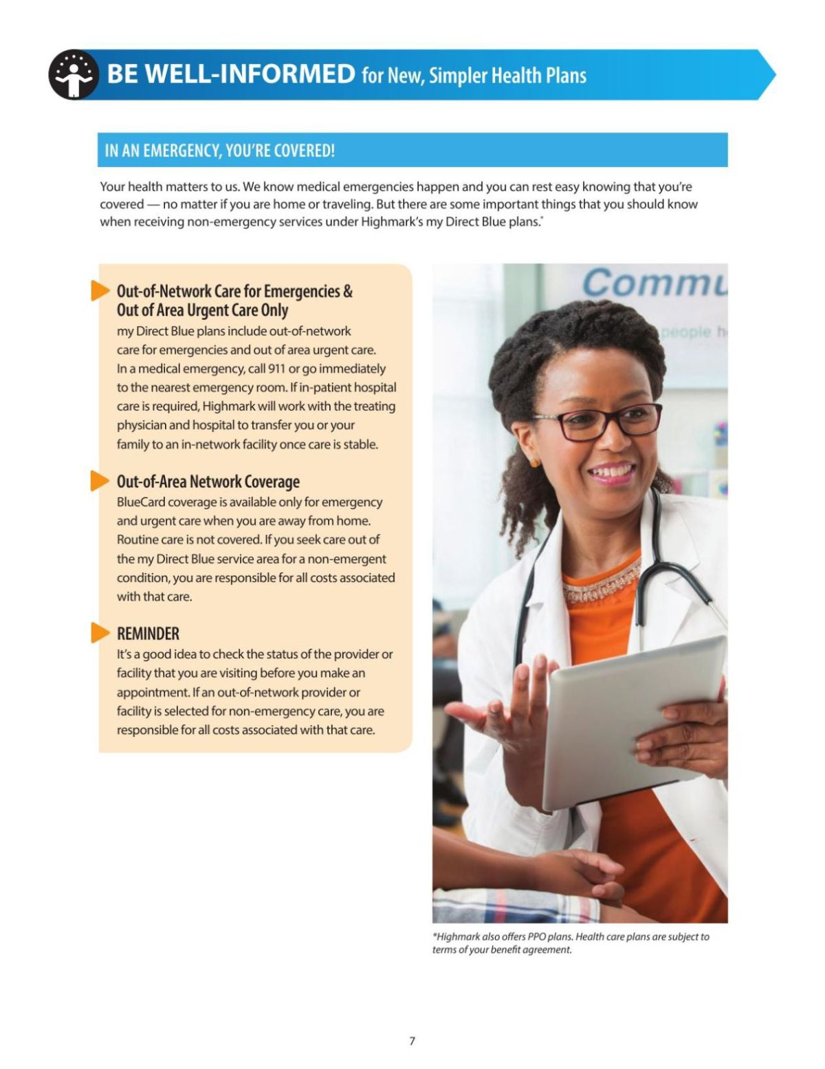 Download Pdf What Highmark's Epo Does & Doesn't Cover