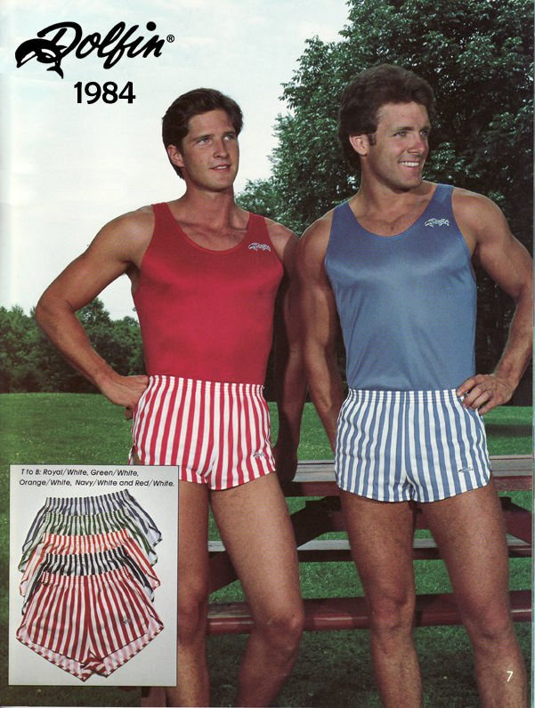 Baseball Mens Shorts 1980s