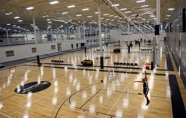Spooky Nook Sports nations largest indoor sports complex