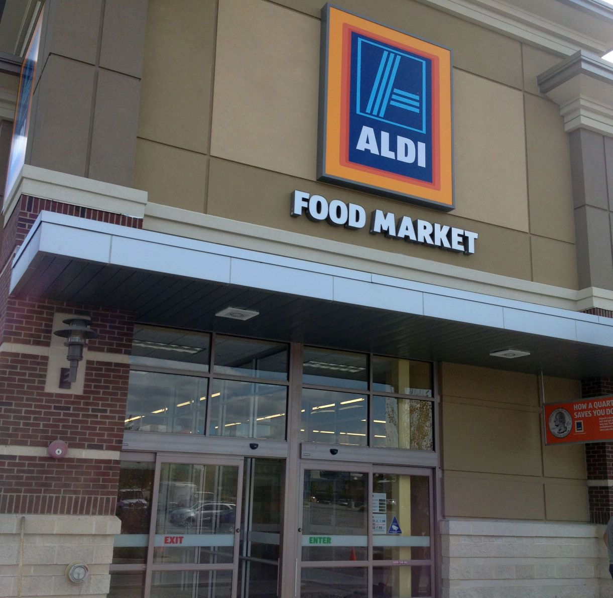 high chair aldi dining room chairs only grocery store opening thursday in route 30 shopping - lancasteronline: local business