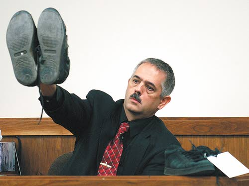 Former detective in witness chair at Meister retrial
