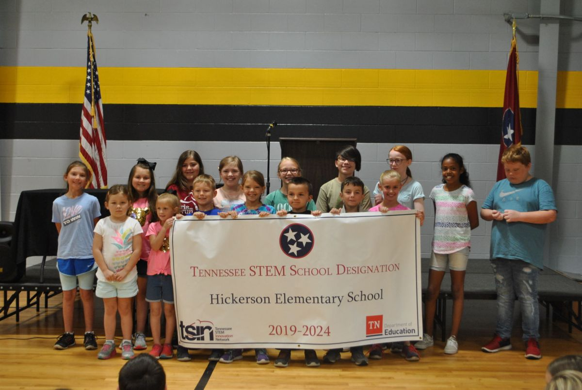 Hickerson Elementary Recognized Stem School