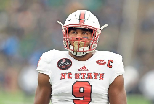Image result for bradley chubb sad picture
