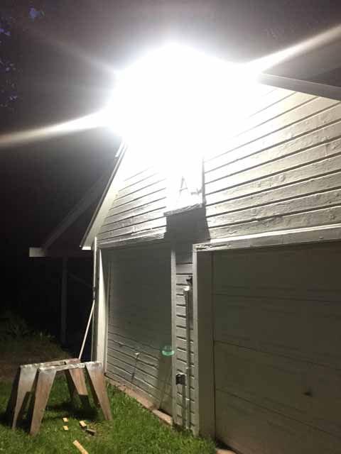 is your outdoor lighting too loud